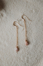 Load image into Gallery viewer, Drop Earrings | Pink Glass Beads