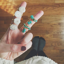 Load image into Gallery viewer, Stackable Wire Wrapped Ring | Turquoise