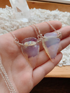 Arrowhead Necklace | Opalite
