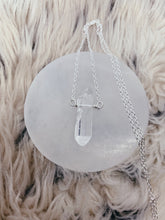Load image into Gallery viewer, Mineral Necklace | Raw Clear Quartz