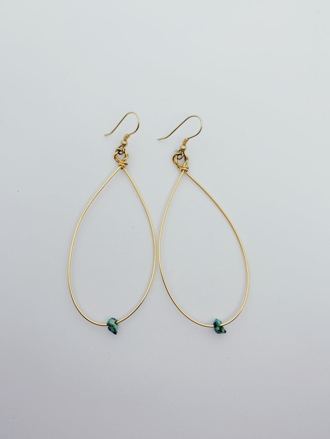 Maura Hoop Earrings | Turquoise