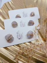 Load image into Gallery viewer, Crystal Studs | Labradorite