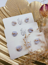 Load image into Gallery viewer, Crystal Studs | Larimar