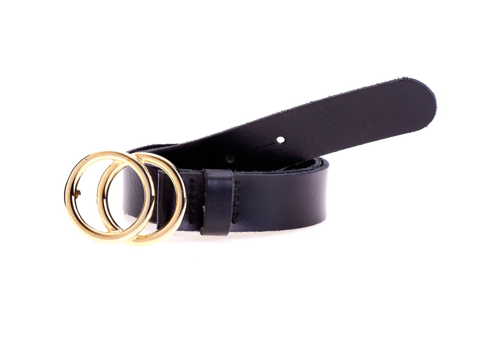 Belt 25842 Circles Plain