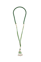 Load image into Gallery viewer, Protective Jade Necklace green