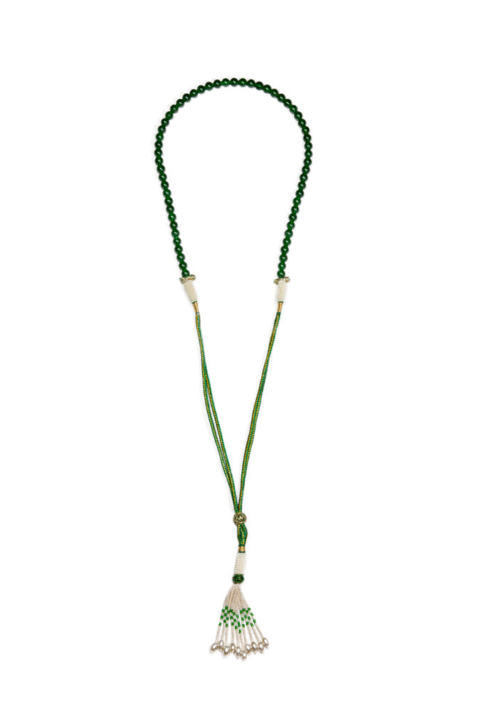 Protective Jade Necklace green