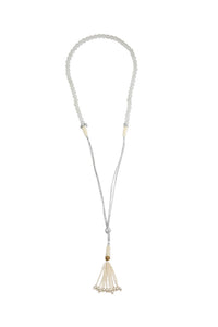Protective Jade Necklace white