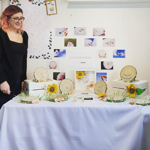 Jen Lithgo - at home postable pop up stall