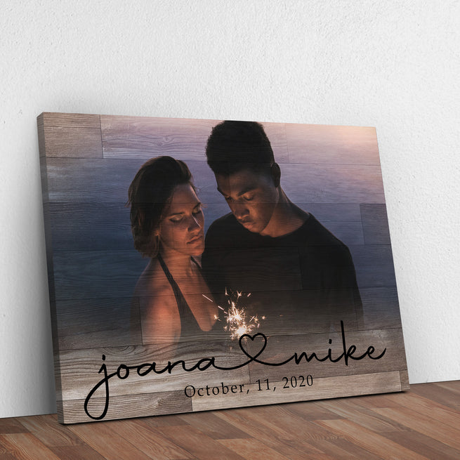 Couple Anniversary Premium Canvas