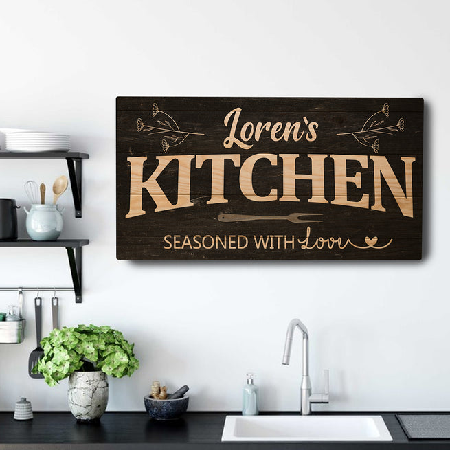 Your Kitchen - Personalized Huge Canvas