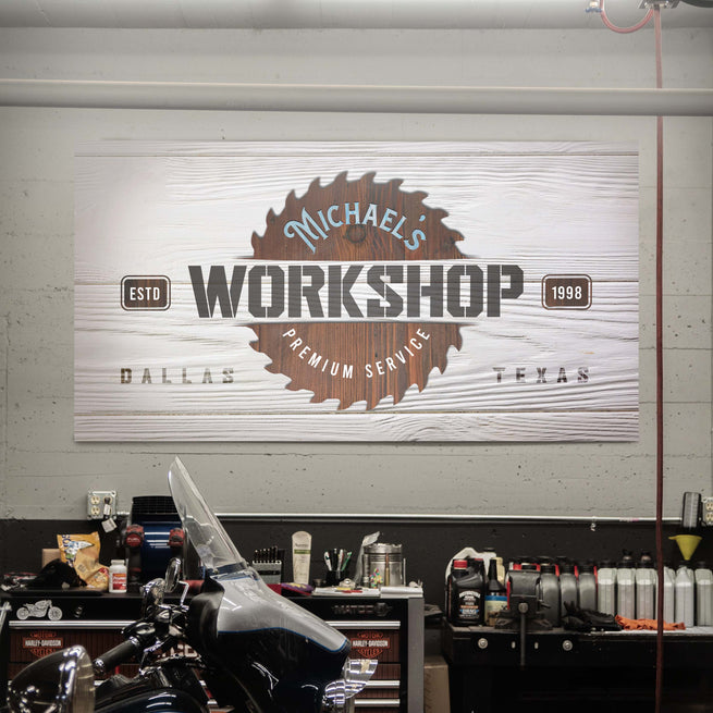 Workshop - Personalized Huge Canvas