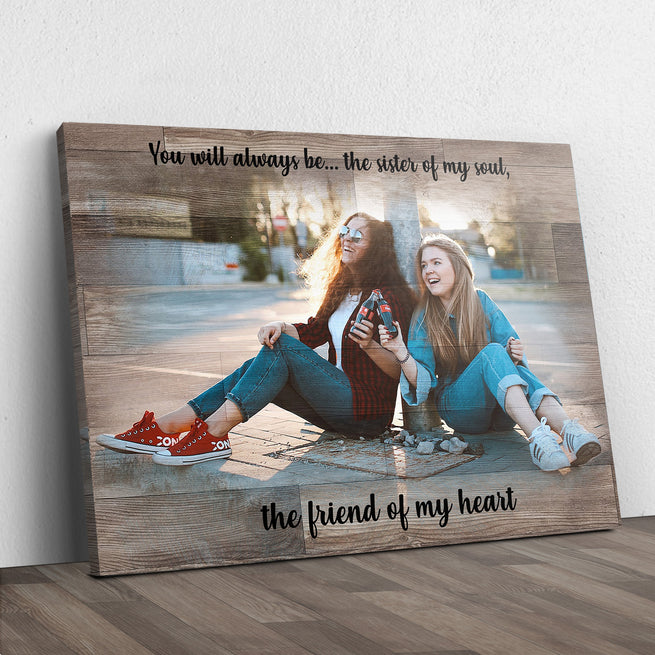 Friends Picture Frame Sign (Ready to hang) - Free Shipping