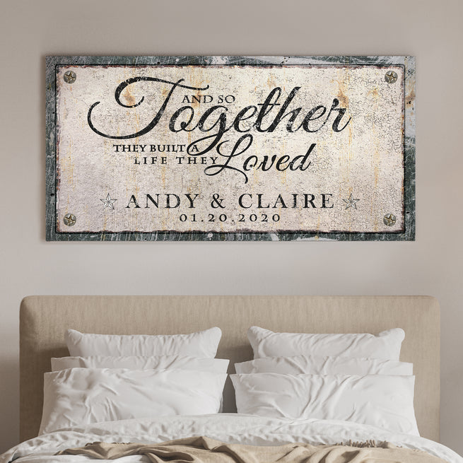 Together - Personalized Huge Canvas