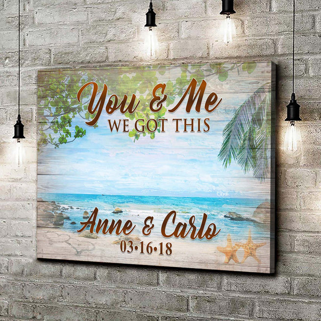 We Got This - Personalized Beach Canvas