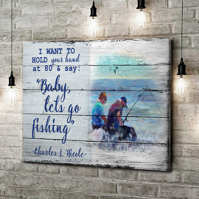 Hold Your Hand - Personalized Premium Canvas