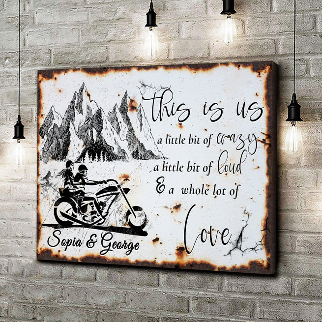 This Is Us - Personalized Premium Canvas