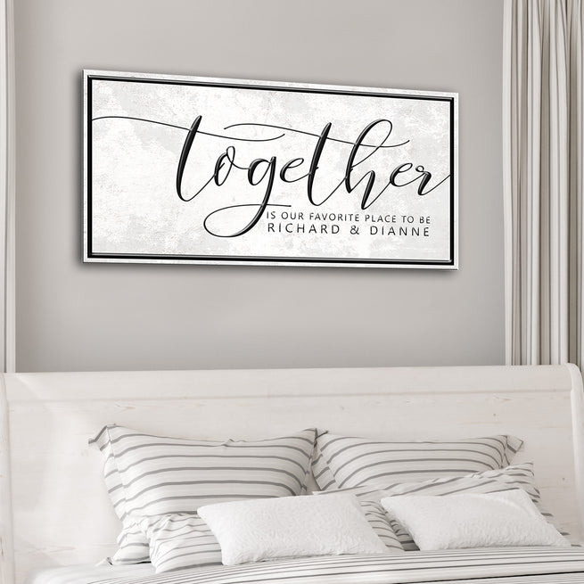 Together (READY TO HANG) - Free Shipping