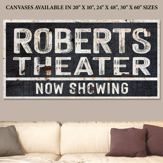 Family Theater - Personalized Huge Canvas