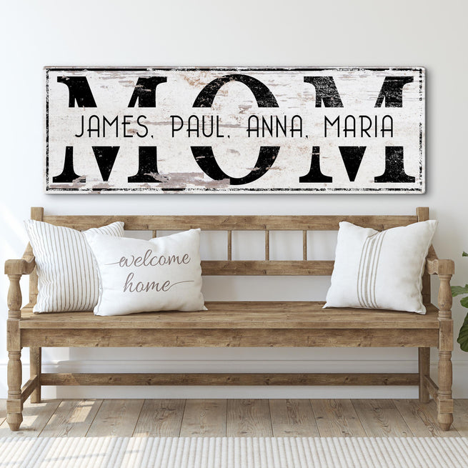 MOM (READY TO HANG) Free Shipping