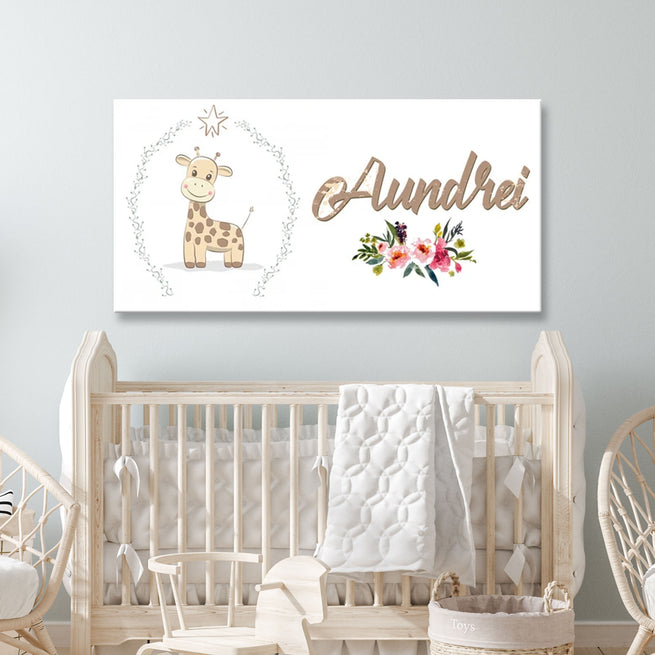 Bambi - Personalized Huge Canvas