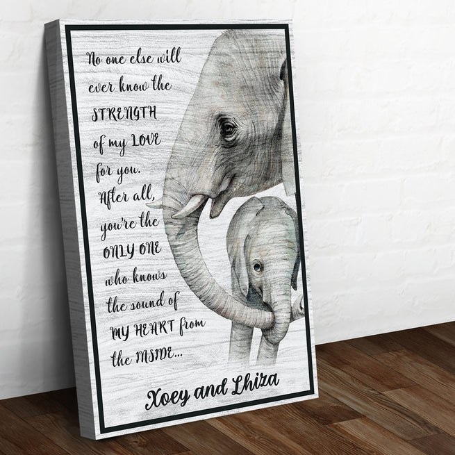 Elephant Premium Canvas