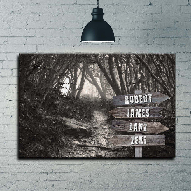 Into The Woods- Personalized Premium Canvas