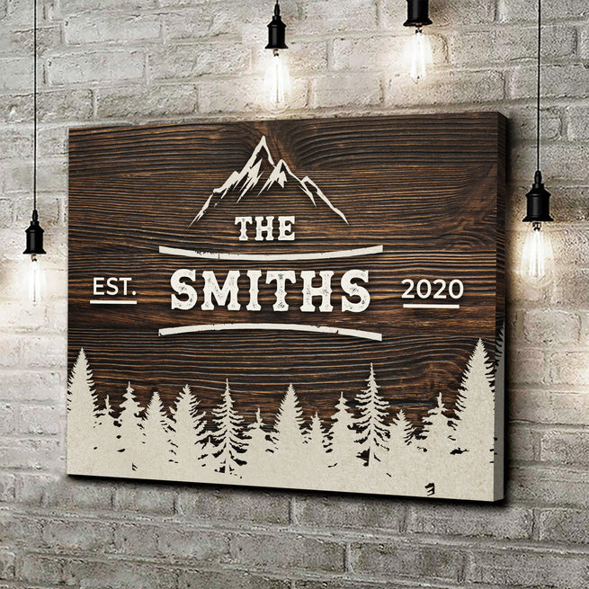 MOUNTAIN RANGE FAMILY PREMIUM CANVAS