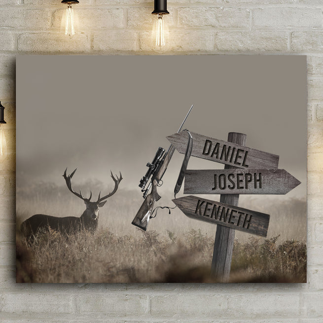 Hunting Season - Personalized Premium Canvas