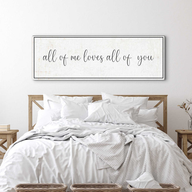 All Of Me - Personalized Huge Canvas