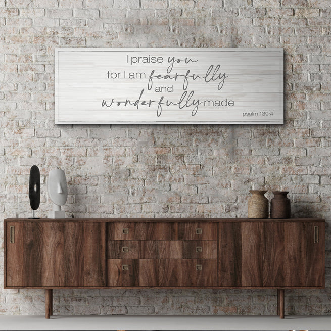 Psalm 139:4 (READY TO HANG) - Free Shipping
