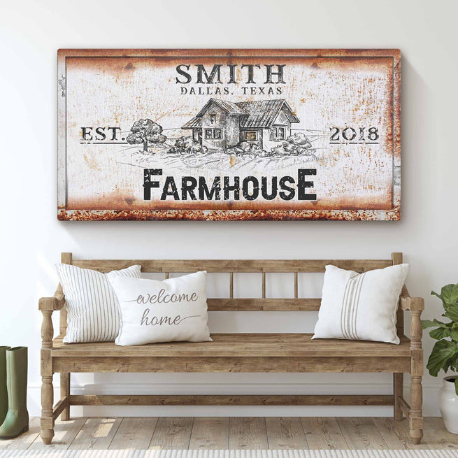 Farmhouse - Personalized Premium Canvas
