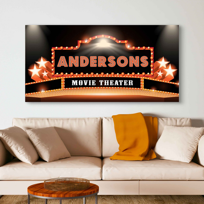 Theater 2 - Personalized Huge Canvas