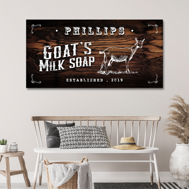 Goat Milk - Personalized Huge Canvas