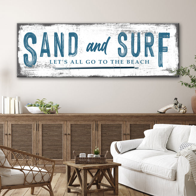 Sand and Surf (READY TO HANG) - FREE SHIPPING