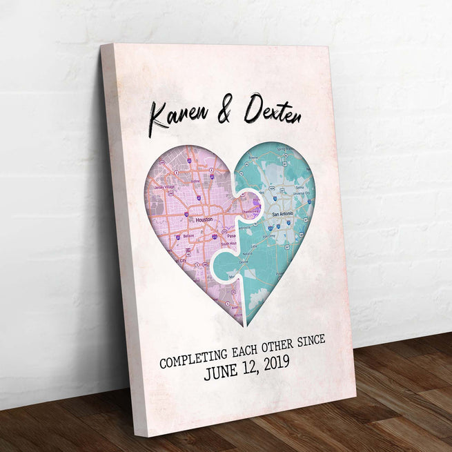Couple Premium Canvas - Valentine Day Gift