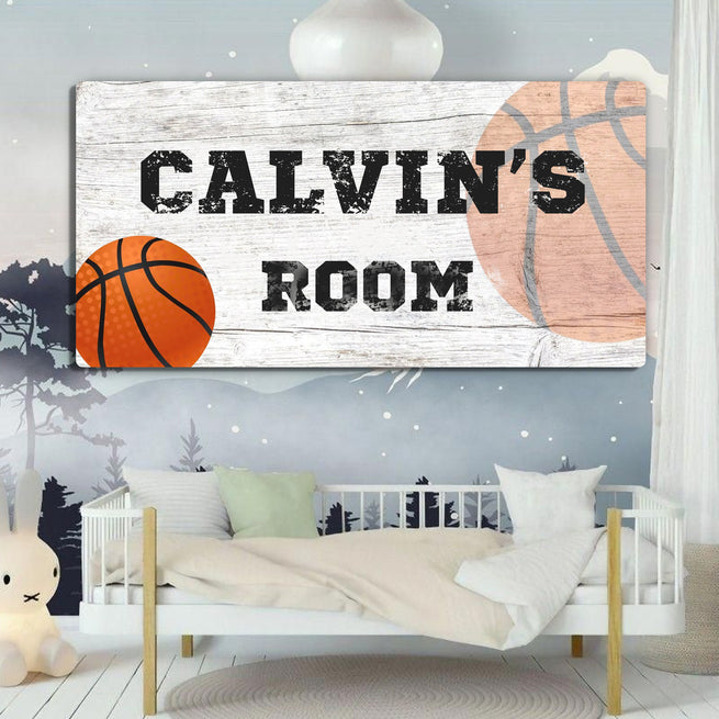 Kid's room - Personalized Huge Canvas