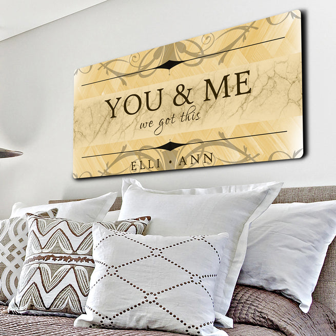 We Got This - Personalized Huge Canvas
