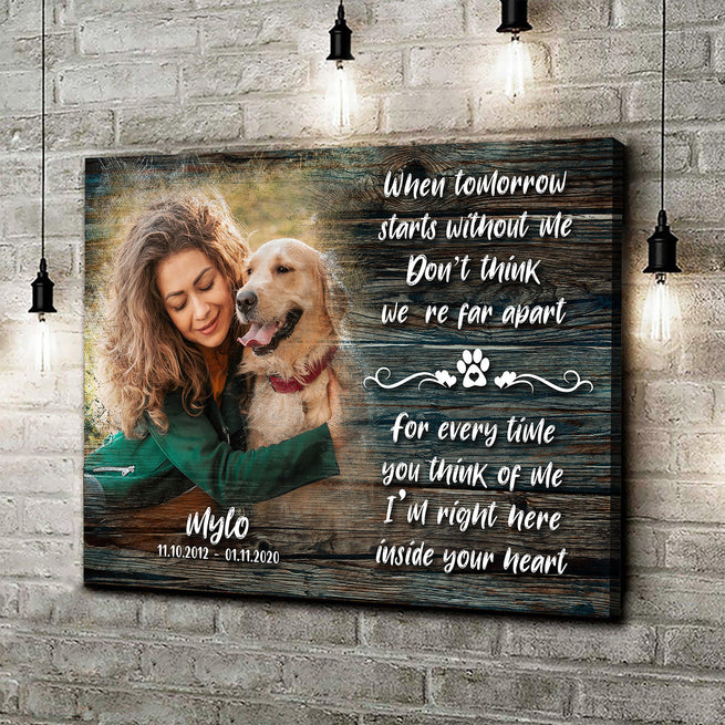 Pet Memorial - Personalized Premium Canvas