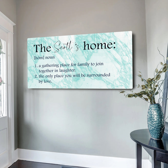 Dictionary - Personalized Huge Canvas
