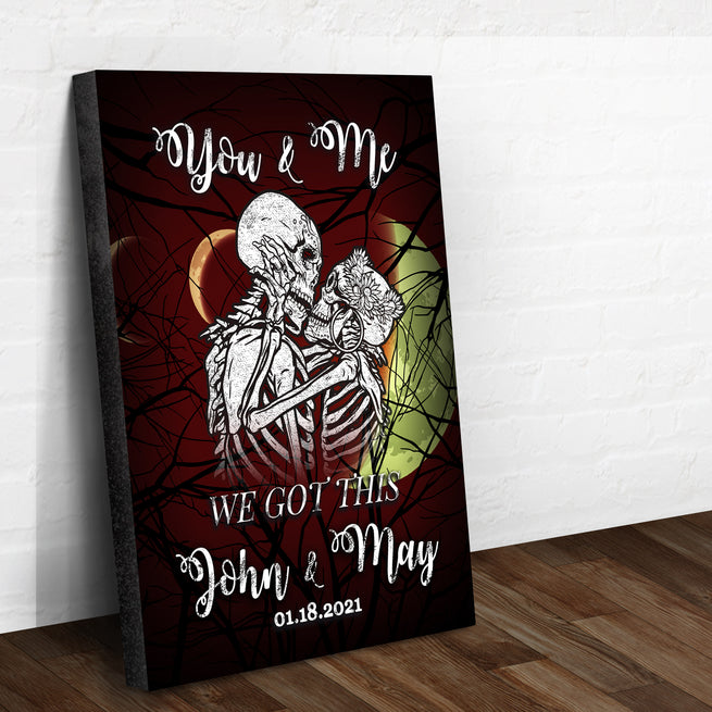 We Got This - Personalized Skull Canvas