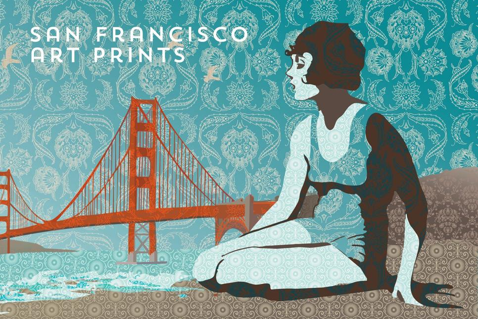 San Francisco art prints