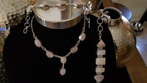 Beautiful Rose Quartz Necklace