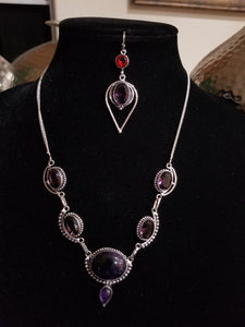 Blooming Amethyst 2 Pc Set