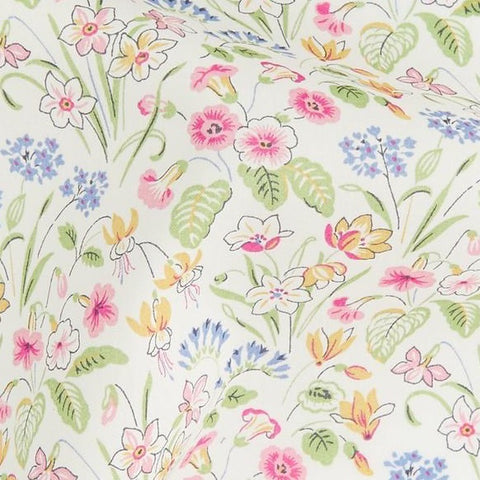 Forget-Me-Not Floral Cotton Face Mask - The Tailor Shop, Stowe