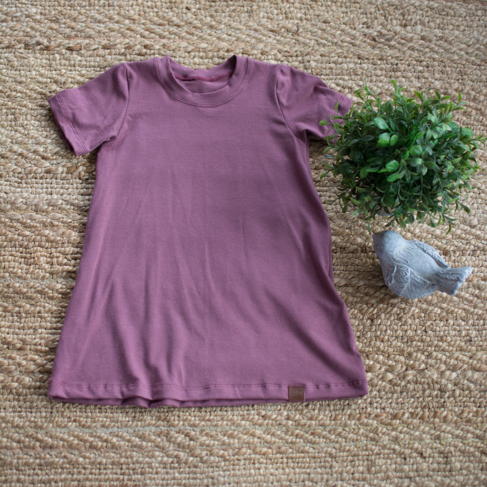 Robe évolutive étroite rose brown