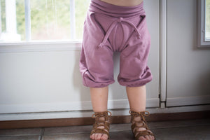 Pantalon aladin rose brown