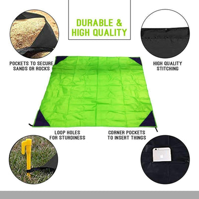 Portable Waterproof Beach Blanket