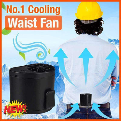 USB Rechargeable Waist Fan