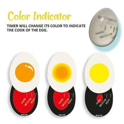 Colour Changing Egg Timer -1pc/2pcs