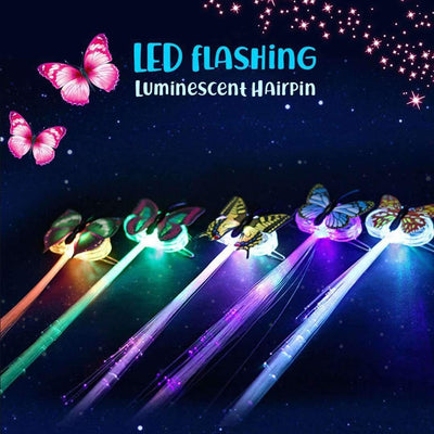 LED Flashing Hair - 5/ 10pcs